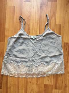 Wilfred lace camisole