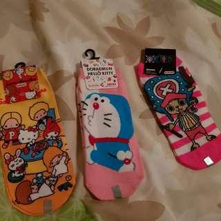 Assorted cute Japanese socks
