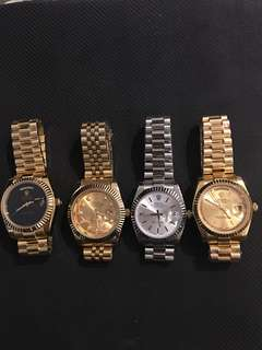 Yellow Gold President DayDate Wristwatch DateJust Submarine 36mm