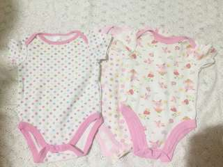Imported Onesies pack of 3