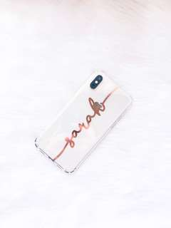 Customized Decal Name Case - Iphone, Samsung