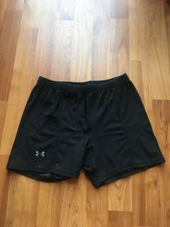 Under Armour compression shorts