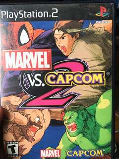 Seling Marvel vs. Capcom 2 for PS2