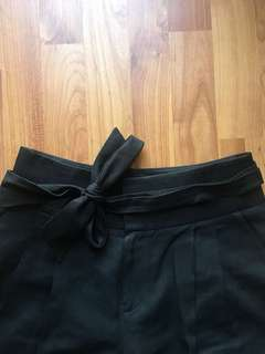 Club Monaco high waisted belted trouser