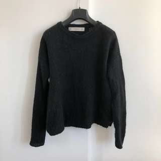 Zara Black Knit Sweater