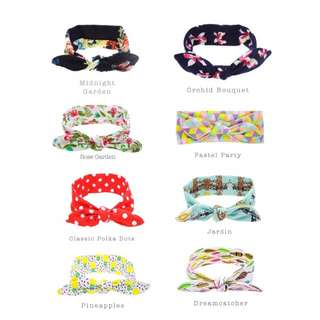 PRINTS & MORE BABY HEADBANDS (3 for $12)