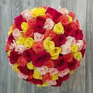 Flower Bouquet∕Hand Bouquet∕Birthday Bouquet∕Anniversary Bouquet∕Proposal Bouquet∕Graduation Bouquet - 1CF9