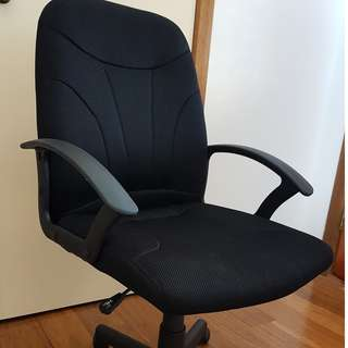 Swivel study/ office chair with adjustable seat height