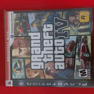 [[限時優惠]]PS3 GTA IV 遊戲一隻