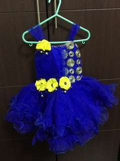 Pretty blue colored worn twice Party Dress