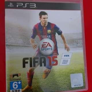 [限時優惠]FIFA 15 原裝正版PS3遊戲一隻