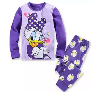 Donald Duck pajamas For Age 2-7 yrs Old