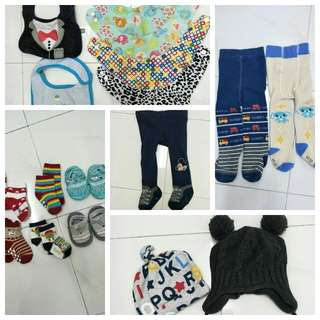 Baby Stuff Hats Booties Legging Bibs