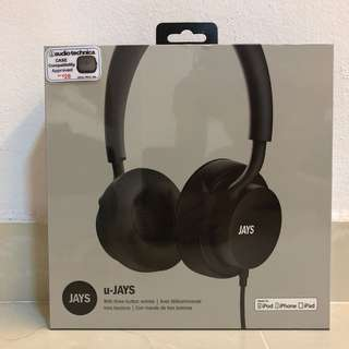 Jays U-Jay Wired Headphones