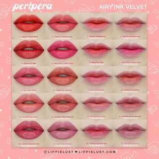 Peripera Airy Ink Velvet