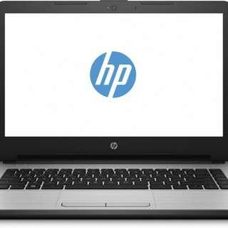 Laptop HP 14 BS013TU Ci3 Bisa Kredit