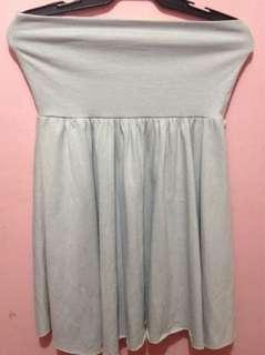 Gray Skater's Skirt