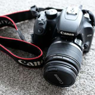 Canon 1000D with Canon EF-S 18-55mm f/3.5-5.6 IS STM lens.