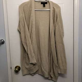 Forever21 light knitted cardigan