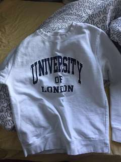 University of London sweater