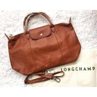 Longchamp leather Cuir