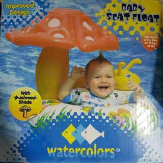 Swimming Float with mushroom shade