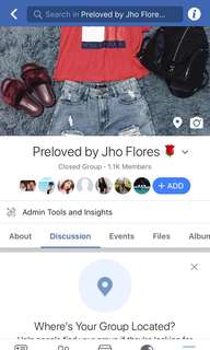 PRELOVED BY JHO FLORES 🌹