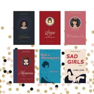 Lang Leav Books (EPUB)