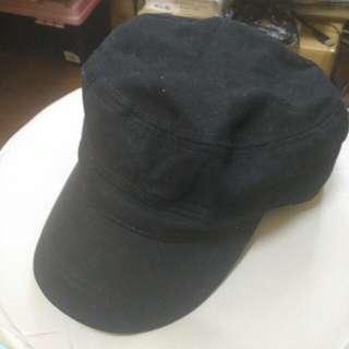 黑色帽 100% cotton