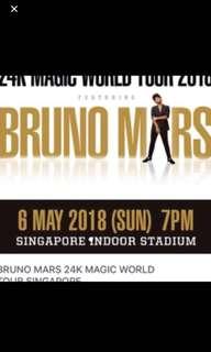 Bruno Mars May 6, 2018