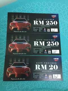 Cartech RM250 voucher