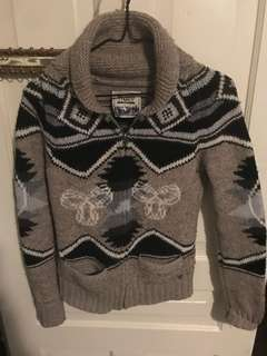 TNA wooly sweater ugly sweater