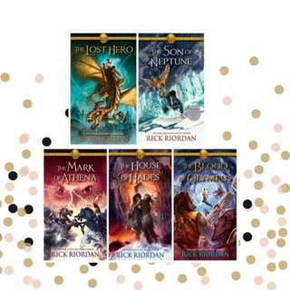 Heroes of Olympus Series (EPUB)