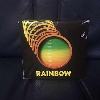 彩虹彈簧圈