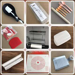 Check out my assorted kitchen tools bakeware etc @sunwalker