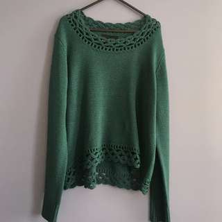 Hurley Teal Knit