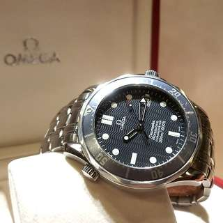 Omega Blue Seamaster Professional Diver's Watch