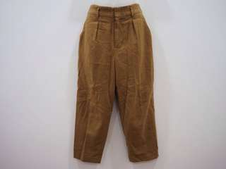 Uniqlo Formal Corporate Work Casual Tan Camel  Pant Trouser