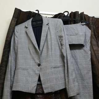 Zara Jacket Suit Pairing With Pants
