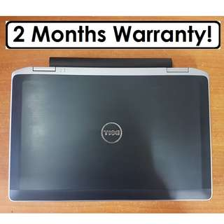 [OUT OF STOCK] DISCOUNTED SET, Dell Latitude E6320: High Clock Speed of 2.8Ghz to 3.5Ghz!