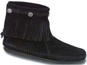 Minnetonka Suede Ankle Boots