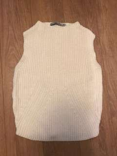 Zara Knit Top - S, Cream