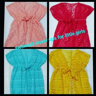 Swimsuit cover ups for little girls ages 1-3 y/o