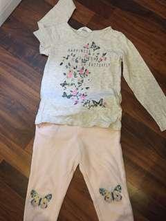 Girls shirt and pants