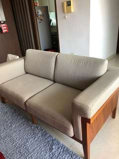 Sofa 2 Seater (Solid wood)