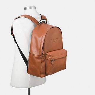 Campus Backpack in Smooth Leather