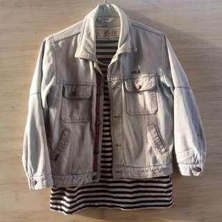 FILA light grey jacket jeans