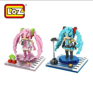 (Free normal mail) Ioz Hatsune Nanoblock FUN BLOCK