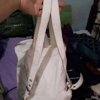 Forever21 white backpack