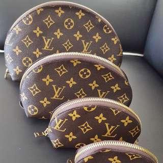 LV Cosmetic Bag Set